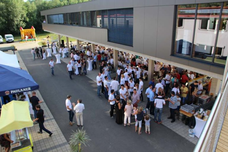 Eröffnung Bürogebäude
