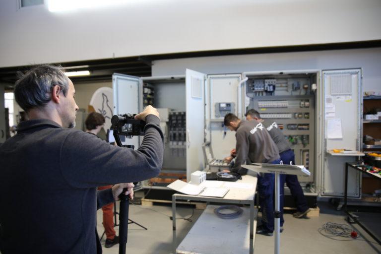 (GERMAN) Filmdreh mit Vulkan TV und Günter Tuscher